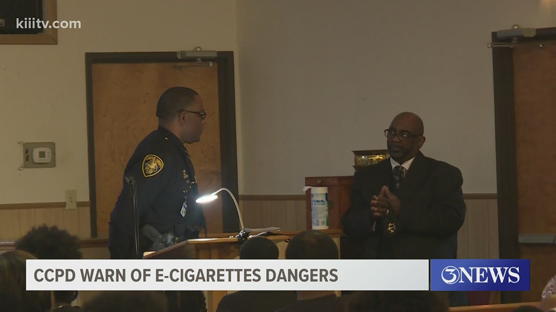 CCPD holds community event to warn of E-cigarette dangers