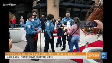 Make-A-Wish gives Corpus Christi teen a shopping spree