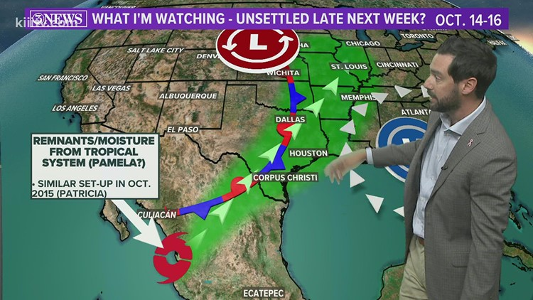 TROPICAL UPDATE: No threats to TX from the Atlantic; watching the Pacific