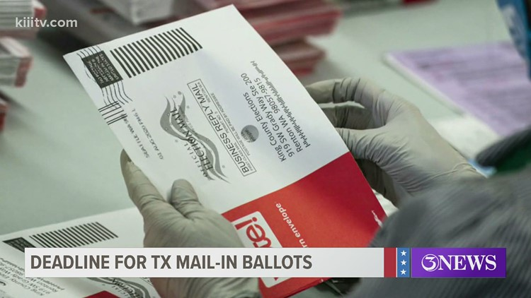 It's a waiting game: Several mail-in ballots have yet to be received in Nueces County