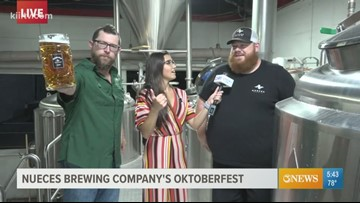 First Edition: Oktoberfest special preview at Nueces Brewing Co.