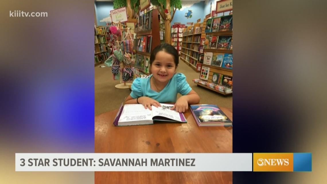 3Star Student: Savannah Martinez