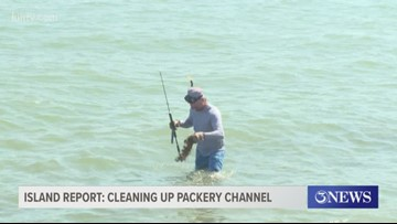 Island Report: Cleaning up Packery Channel