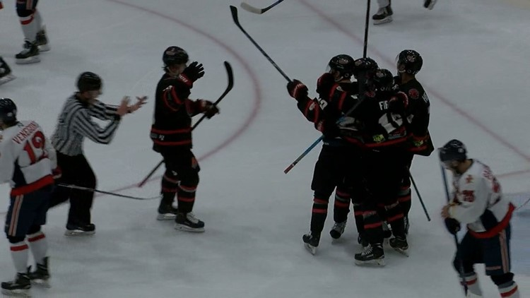 IceRays win game two of series with Bulls to take a 2-0 lead in series