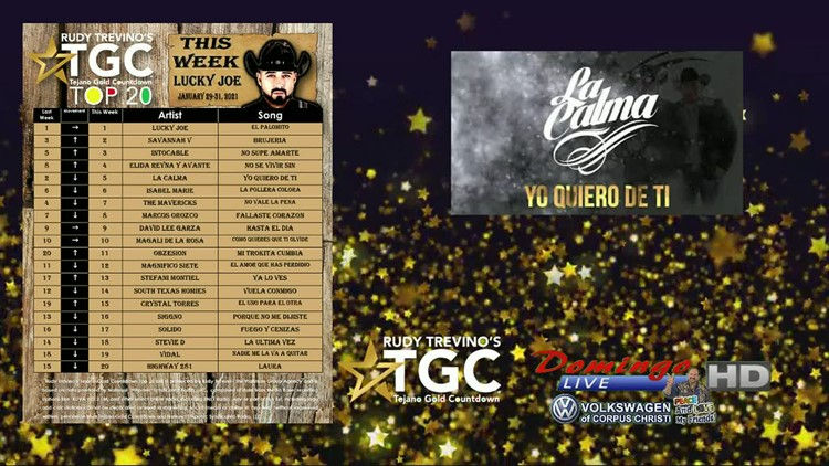 Domingo Live: Tejano Gold Countdown Top 5