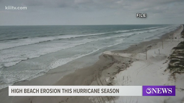 Hurricane Season: Beach erosion causes damage to Coastal Bend beaches, TAMU-CC study reveals