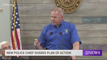 New Rockport Police Chief shares plan of action