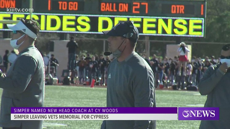 Veterans Memorial's Simper to take job in Cy-Fair ISD - 3Sports