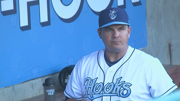Hooks 2018-19 Manager Omar Lopez promoted to Astros 1st base coach