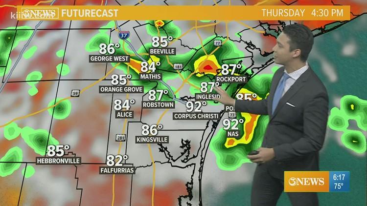 Ryan Shoptaugh KIII South KIII South Texas Weather Forecast 07-22-2021