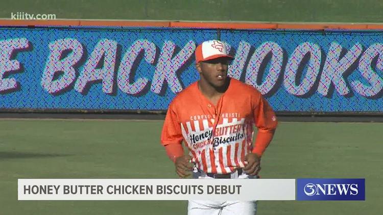 Honey Butter Chicken Biscuits get win in debut of alternate uniforms - 3Sports