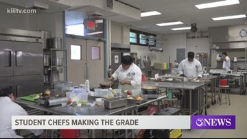 Student chefs at Del Mar College make the grade