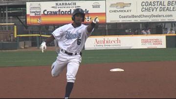 Hooks pick up 5-2 win over the Sod Poodles on Opening Day