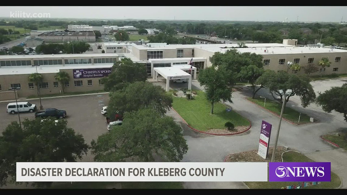 Surge in COVID-19 cases leads to hospital bed shortage in Kleberg County, disaster declaration issued