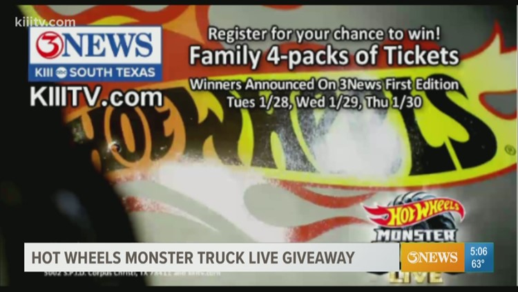 Hot Wheels Monster Truck Live Show coming to American Bank Center