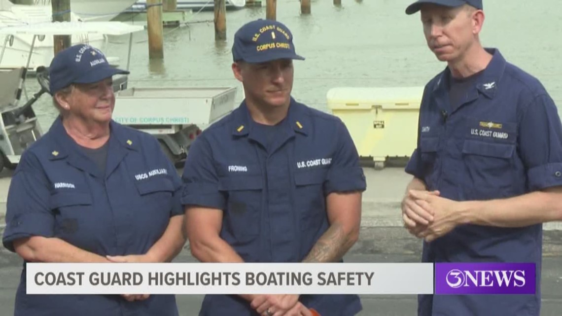 U.S. Coast Guard hosts boating safety lesson at Corpus Christi Marina
