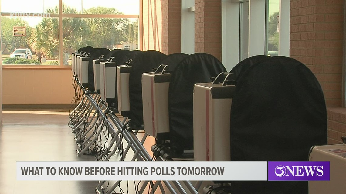 A guide to voting in Nueces County on Election Day