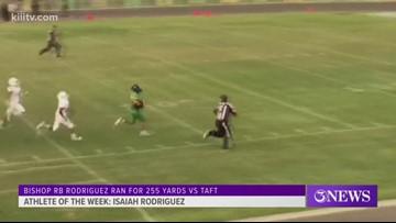 Athlete of the Week: Bishop's Isaiah Rodriguez