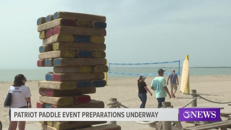 Organizers prepare for Patriot Paddle Event