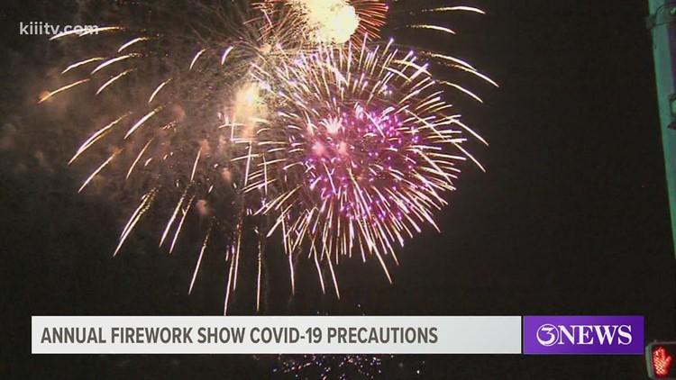 City to put on New Year's Eve 'Big Bang Firework Show' over Corpus Christi Bay