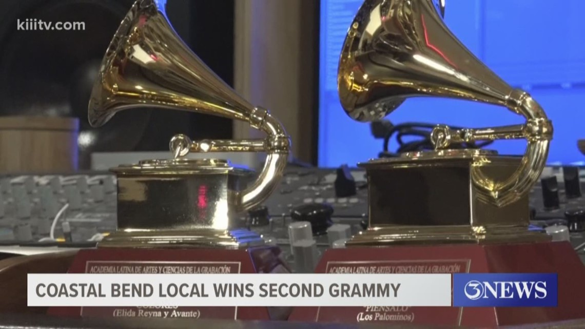 A local from the Coastal Bend earns his second Grammy in two years