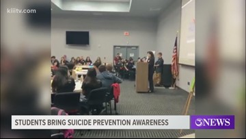 Suicide Prevention Symposium held at Del Mar College's Economic Development Center