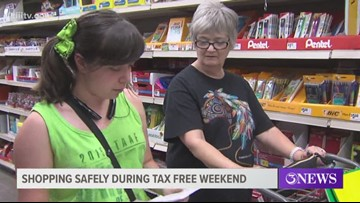 Shopping safe on Tax Free Weekend
