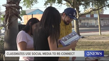 Former classmates at Wynn Seale Fine Arts Academy use social media to reconnect