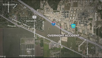 Driver dies from injuries sustained in I-37 crash