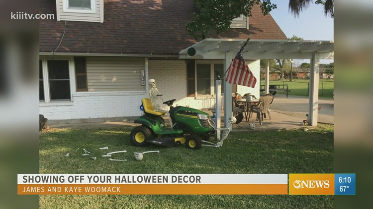 Showing off your Halloween decor