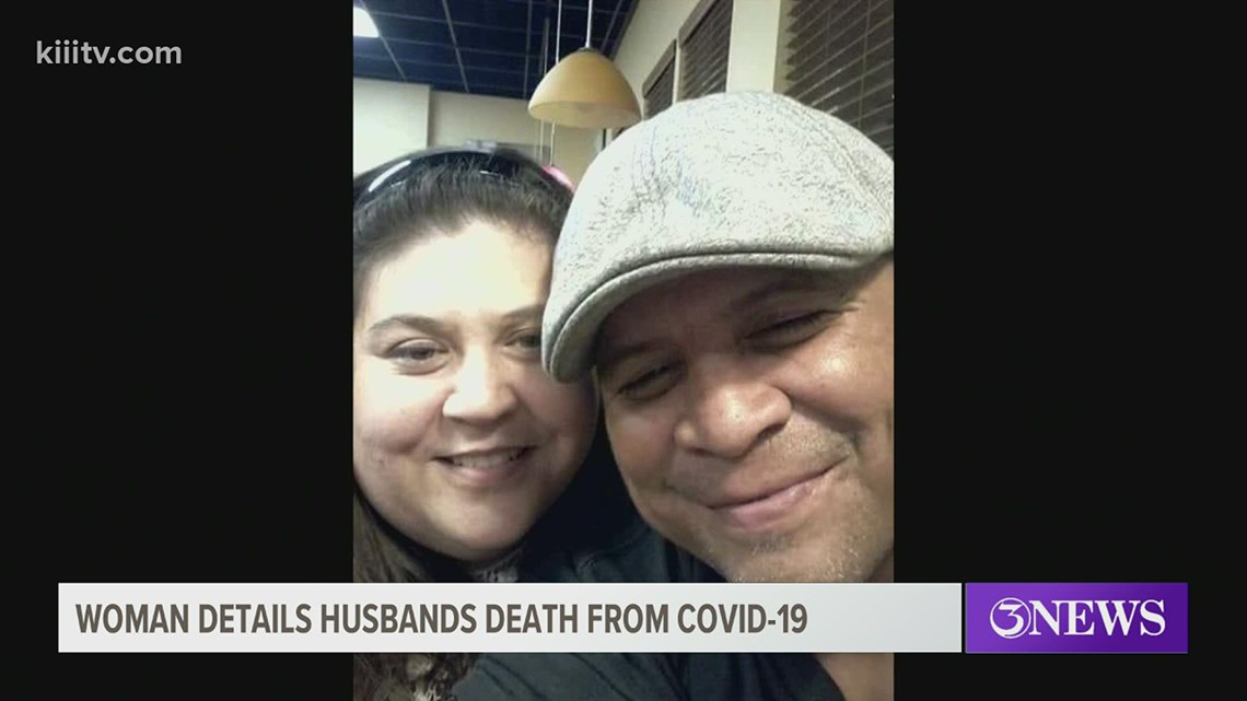 Widow details husband's death after not seeking treatment for COVID-19