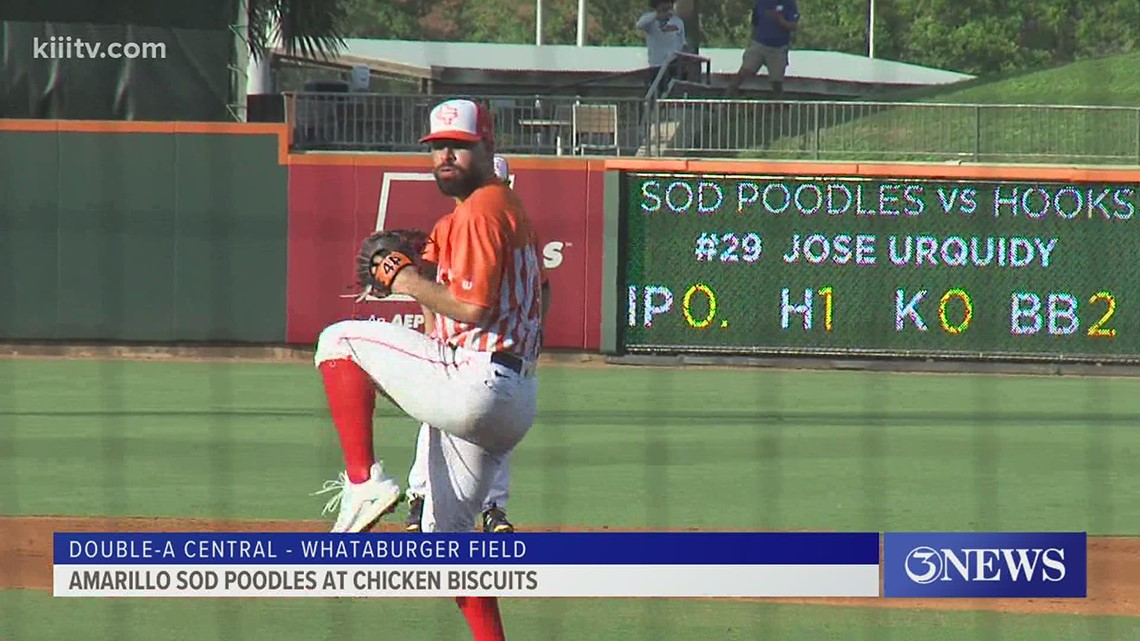 Astros' Urquidy helps lead Chicken Biscuits to win over Amarillo - 3Sports