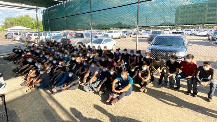 U.S. Border Patrol continues to see a rise in human smuggling throughout South Texas