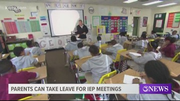 Parents can take leave for Individualized Education Program meetings