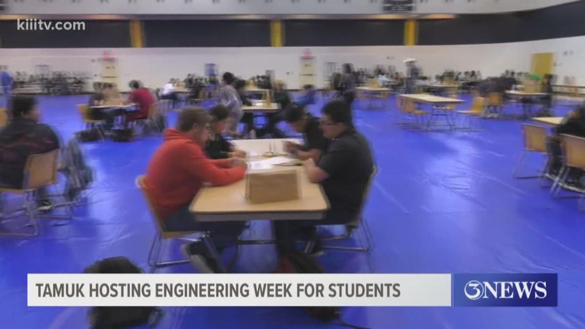 TAMUK hosting Engineering Week for students