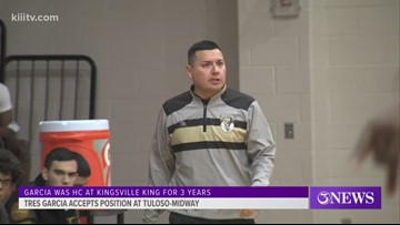 Tres Garcia taking over as Tuloso-Midway's boys basketball head coach - 3Sports