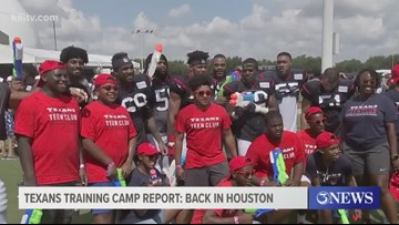 Texans Training Camp Report: Back in Houston