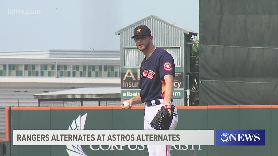 Astros and Rangers' alternates tie in second exhibition game - 3Sports