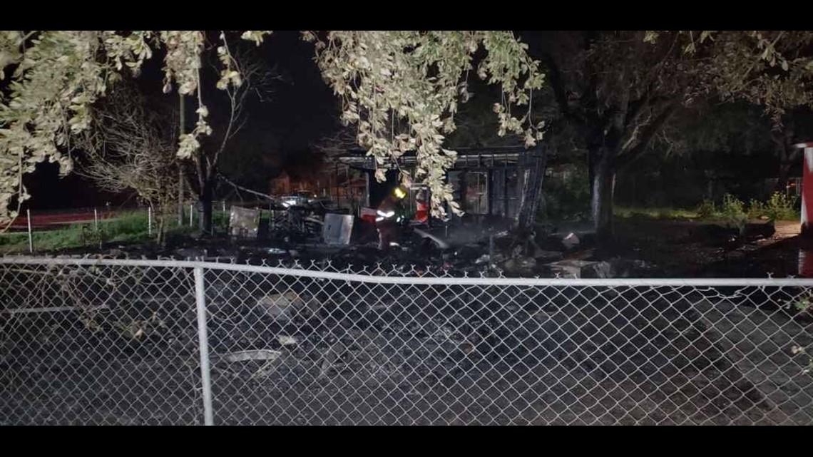 Crews in San Diego battle overnight house fire
