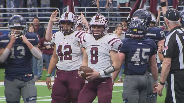 No. 8 Calallen falls to Boerne Champion in wild game at the Alamodome