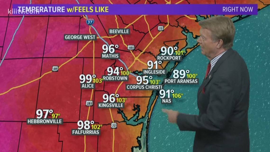 Only Isolated Showers Again Thursday