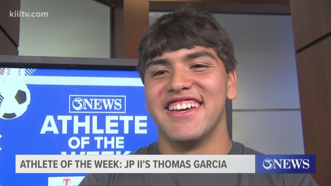 Athlete of the Week: John Paul II's Thomas Garcia - 3Sports