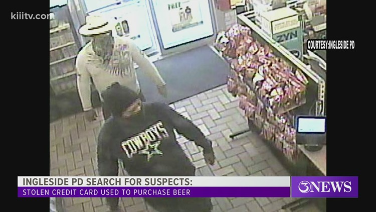 Ingleside PD: Suspects use stolen credit card to buy $100+ in beer