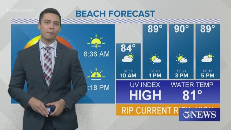 Hot, Humid And Breezy Conditions Through Memorial Day