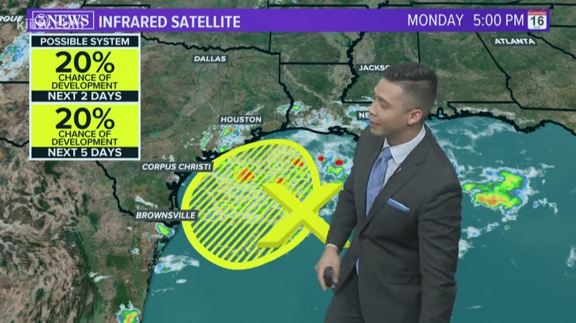 Scattered showers Tuesday