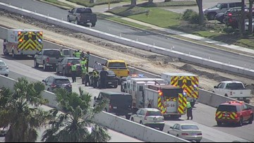 First responders called to multi-vehicle crash along eastbound SPID