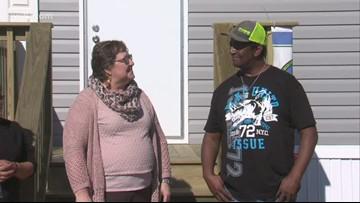 Military Matters: Refugio veteran receives new home