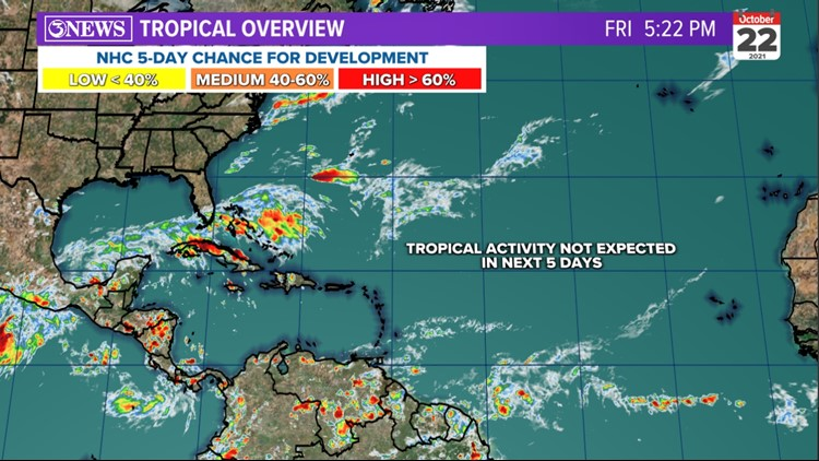 TROPICAL UPDATE: No Threats in the Atlantic