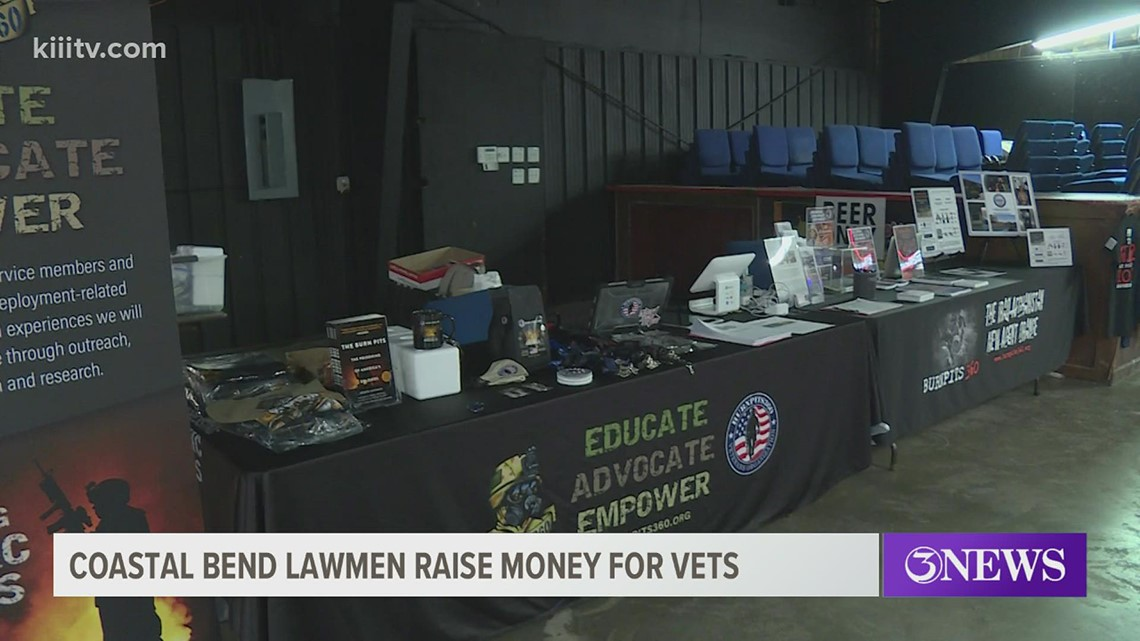 Coastal Bend law enforcement agents raise money for veteran organization