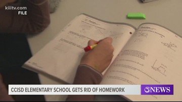 Kolda Elementary School completely doing away with homework